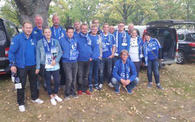 Innersteknappen zum Spiel bei Hertha BSC