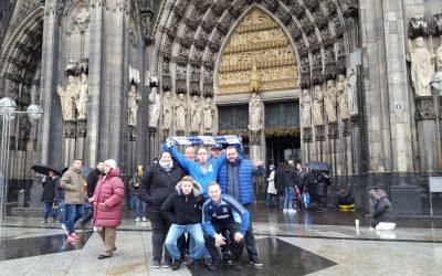 Innersteknappen beim Spiel in Köln